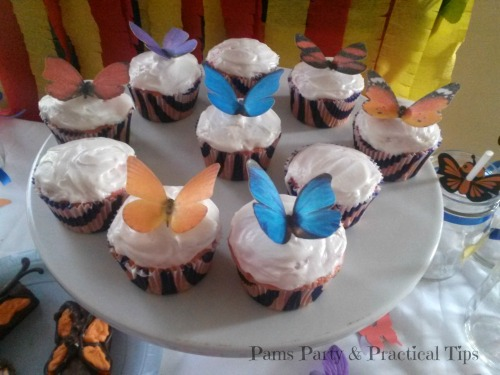 Butterfly Party Cupcakes R