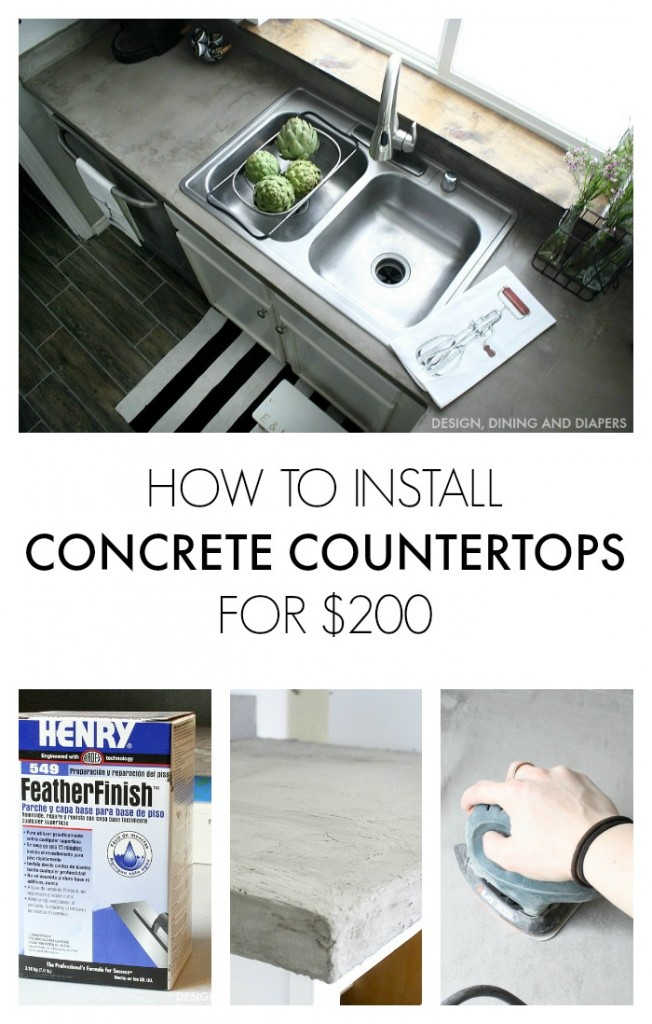 How-to-Install-Faux-Concrete-Countertops-Using-Ardex-Feather-Finish-Entire-kitchen-costs-her-200-designdininganddiapers.com_