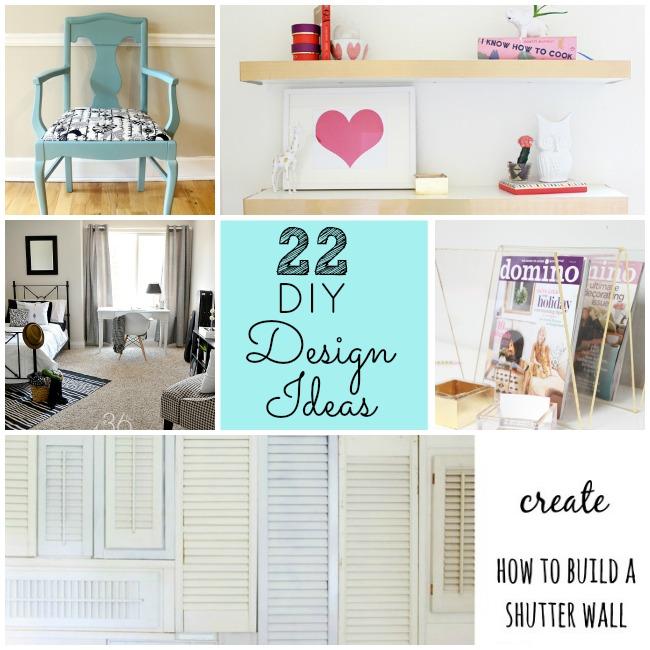 22 diy design ideas for your home