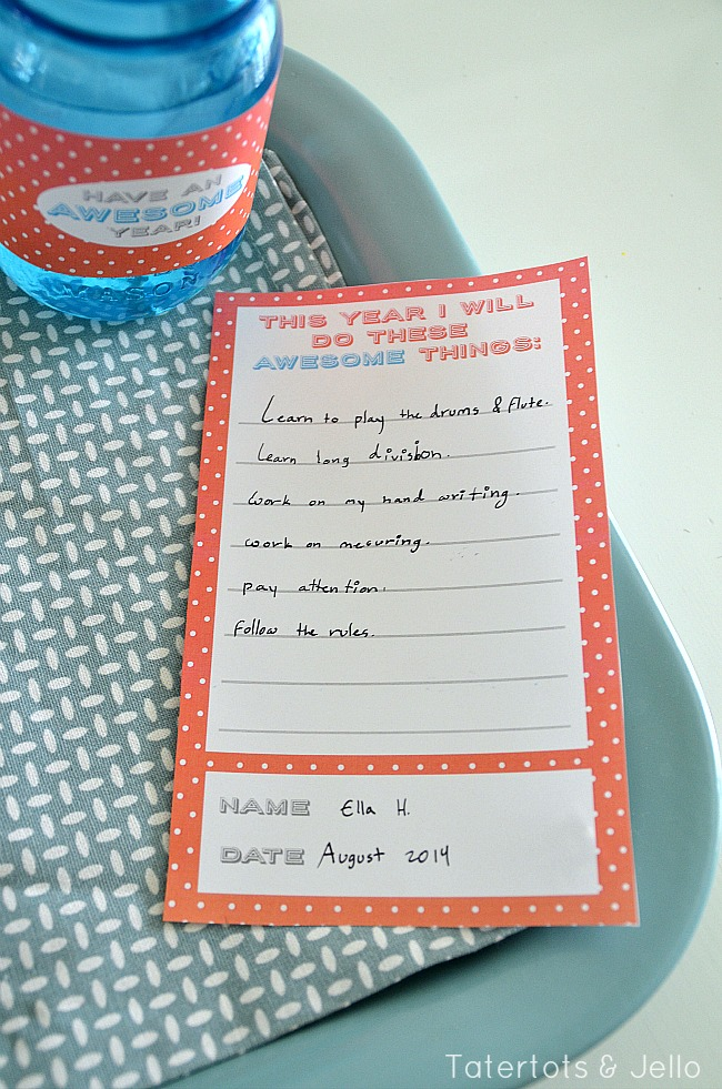 back to school dinner printables at tatertots and jello
