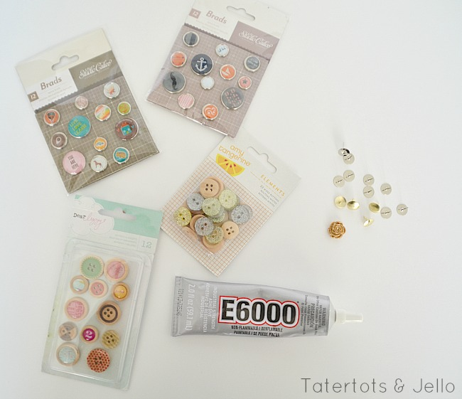 diy pushpin tutorial at tatertots and jello