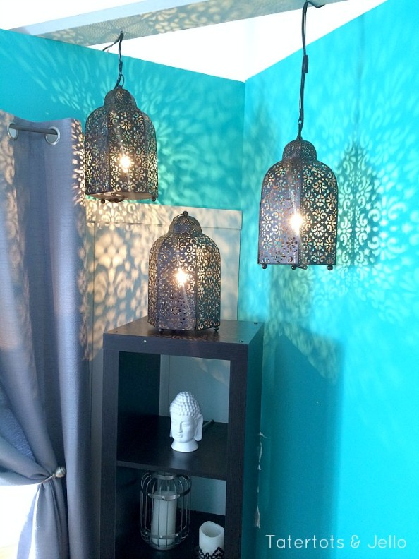 moroccan lanters from better homes and gardens