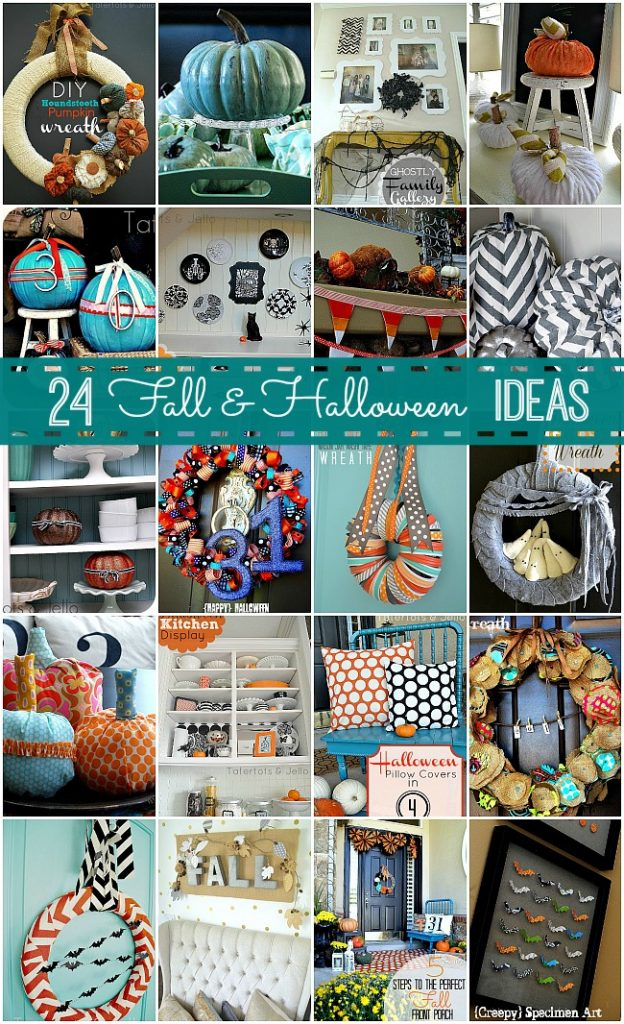 24 fall and halloween diy projects at tatertots and jello