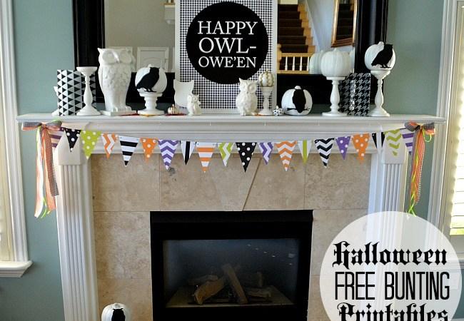 Free Halloween Pennant Printables!
