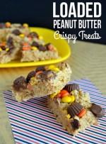 Loaded Peanut Butter Crispy Treats