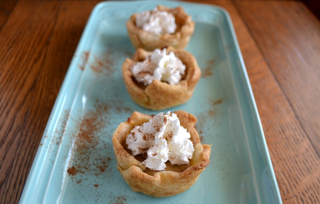 Mini Pumpkin Pies 2