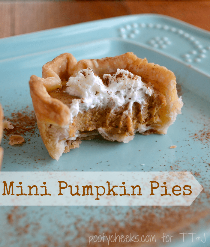 How to make Mini Pumpkin Pies. This recipe is a family favorite passed down through generations. Bite-sized pumpkin pies make a wonderful dessert or holiday appetizer.