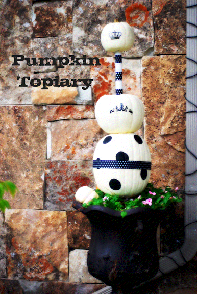 pumpkin+topiary+on+porch