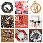 Great Ideas — 20 DIY Fall and Halloween Wreaths!