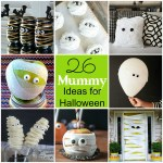 26 Mummy Ideas for Halloween – party ideas, recipes, crafts and more!