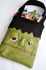 DIY Monster Trick or Treat Bag