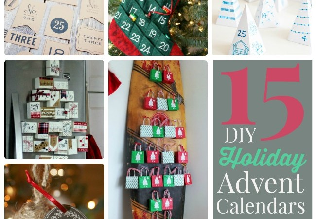 Great Ideas — 15 DIY Holiday Advent Calendars!