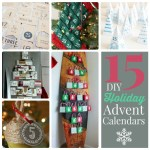 Great Ideas — 15 DIY Holiday Advent Calendars!