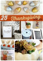 Great Ideas — 25 DIY Thanksgiving Ideas (Part Three)!