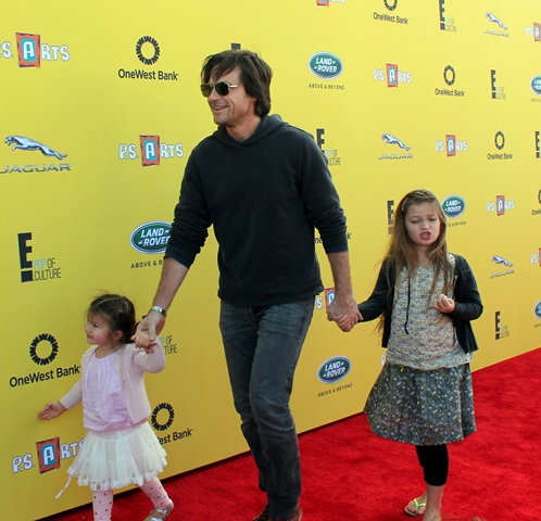 PS Arts 2014 - Jason Bateman and daughters