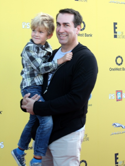 PS Arts 2014 - Rob Riggle and his son