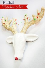 HAPPY Holidays: Rudolph Reindeer Art