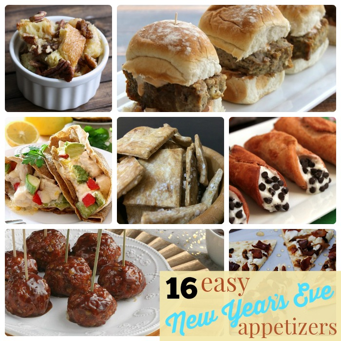 Great Ideas 16 Easy New Year S Eve Appetizers