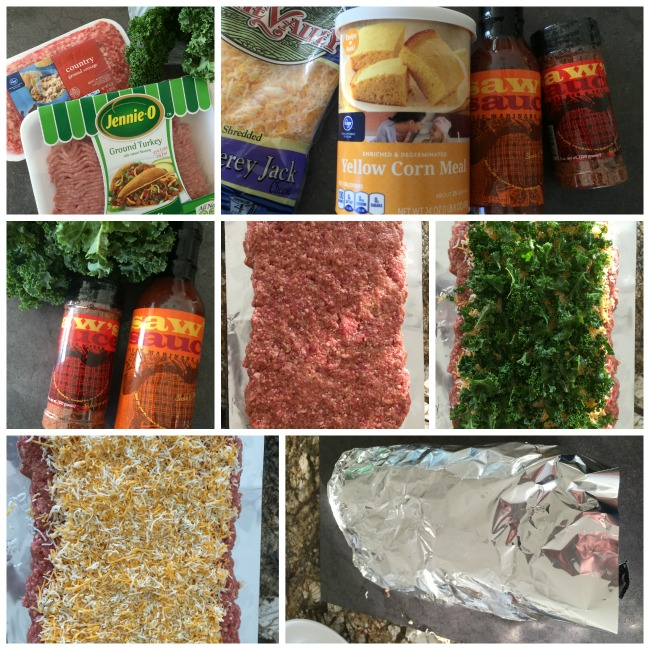 southern meatloaf collage