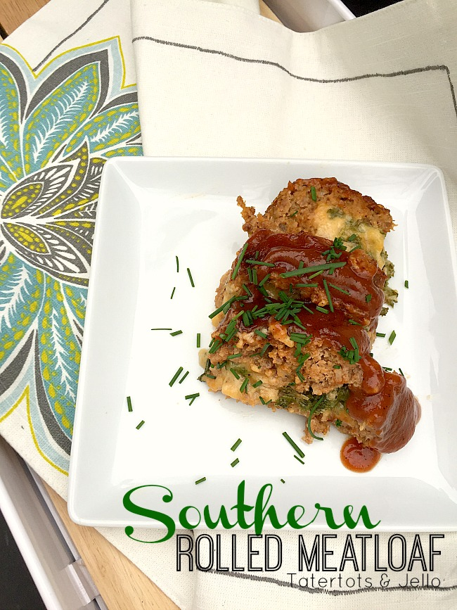 southern rolled meatloaf roll recipe at tatertots and jello
