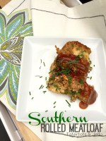 Southern Rolled Meatloaf Recipe!