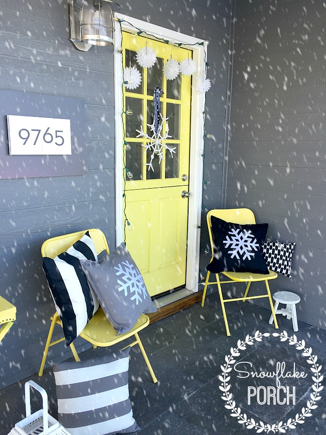 snowflake porch at tatertots and jello