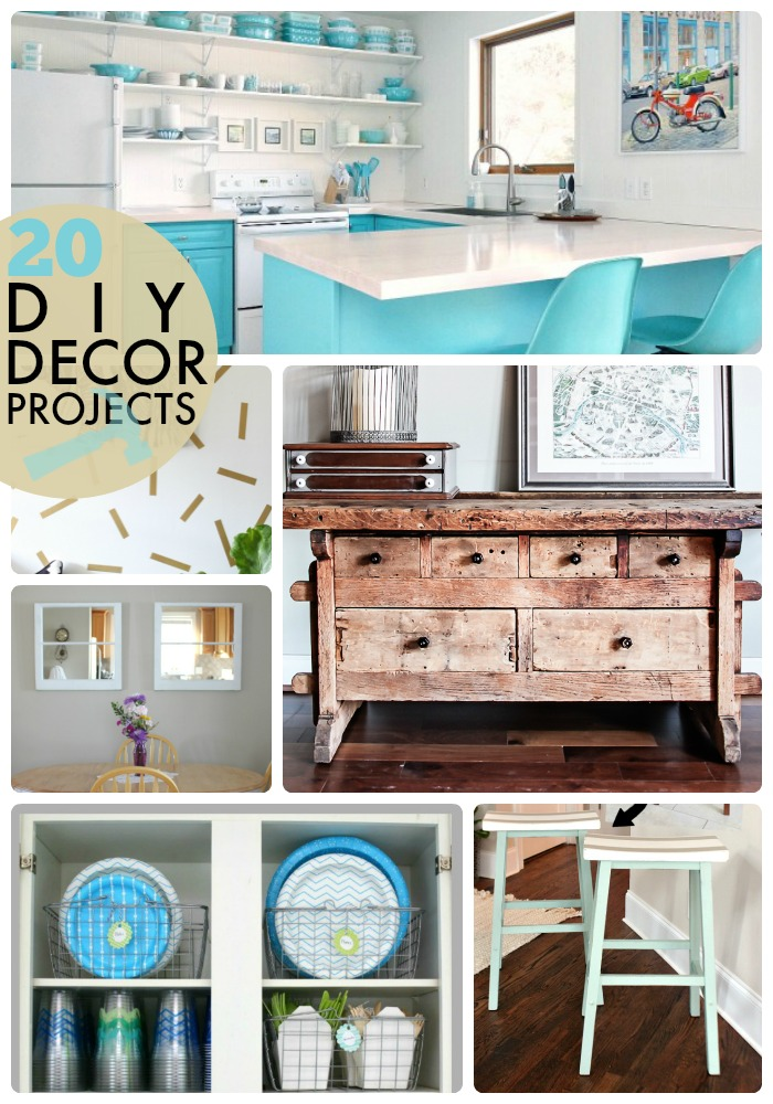 Great Ideas -- 20 DIY Decor Projects!