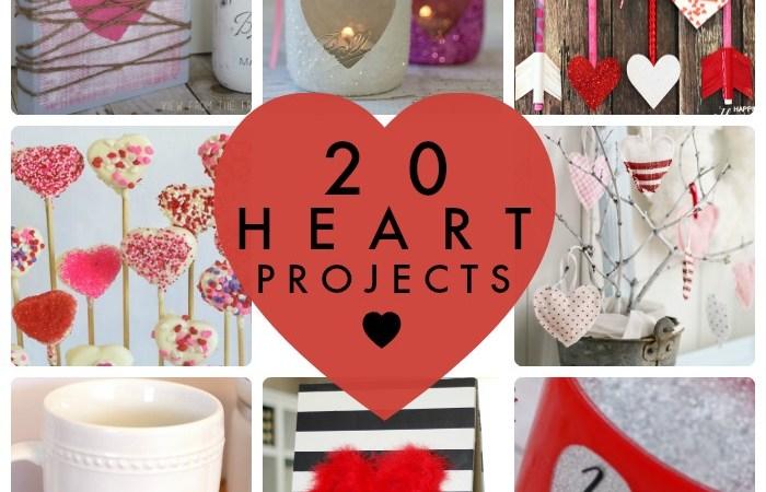 Great Ideas — 20 Heart Projects!