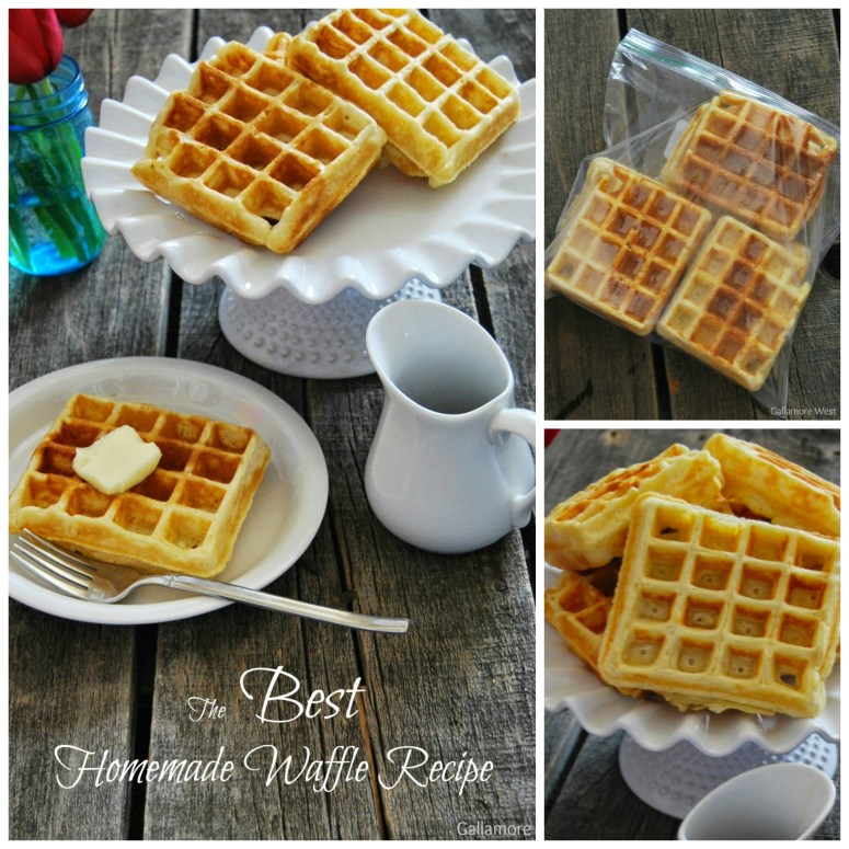 The best homemade waffle recipe EVER!