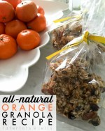 All-Natural Orange Granola Recipe!