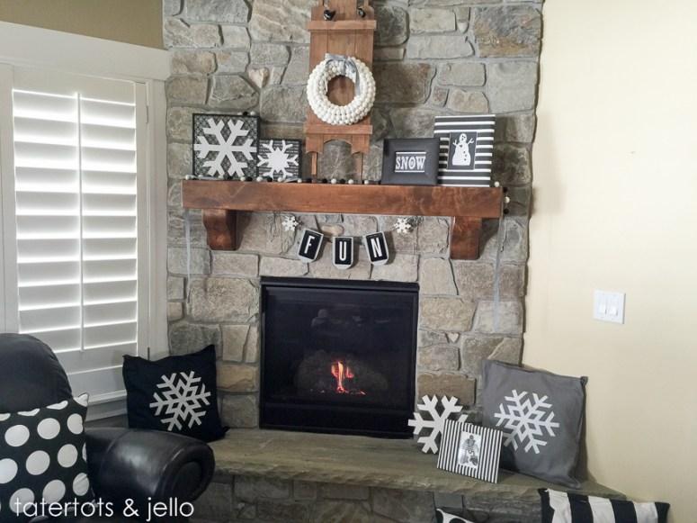 Idées de décoration de flocon de neige