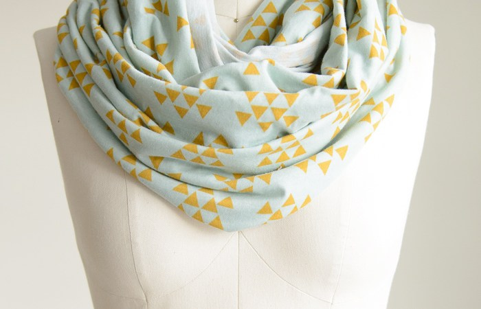 DIY Infinity Travel Scarf
