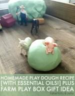 Play-Dough Recipe [With Essential Oils!]
