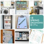 Great Ideas — 18 Spring Organizing DIYs!