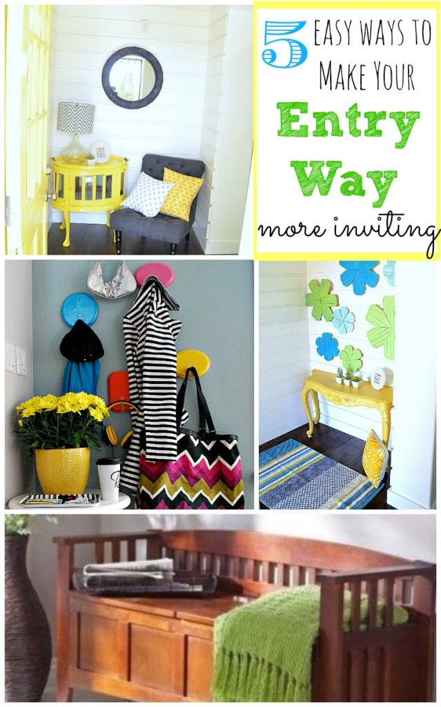 5 Easy Ways to Make Your Entry Way More Inviting