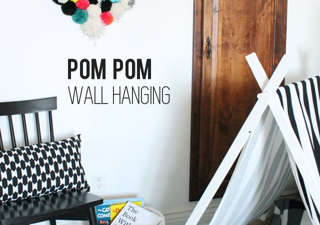 Pom Pom Wall Hanging
