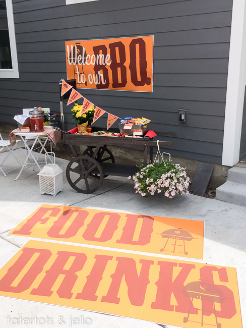 free summer barbeque printables party