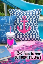 How to Sew Outdoor Pillows