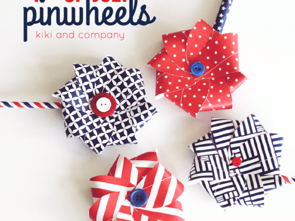 4th of July Pinwheels
