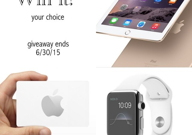 Win an Apple Watch! ($500 in Apple Store Credit!)