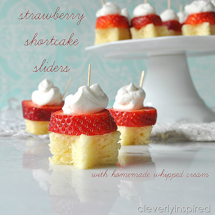 Strawberry Shortcake Slides are easy and the perfect dessert this summer!