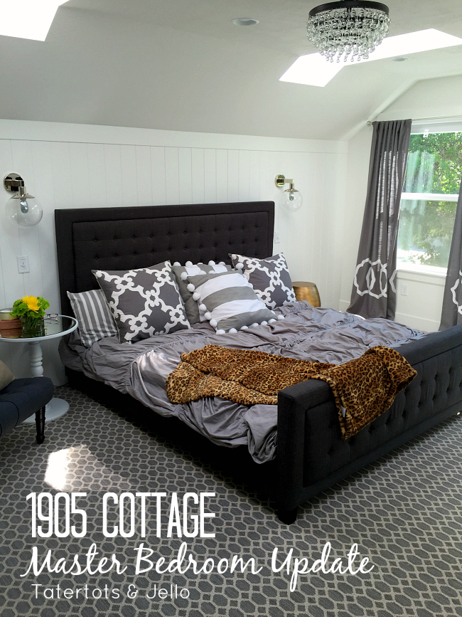 1905 cottage master bedroom update