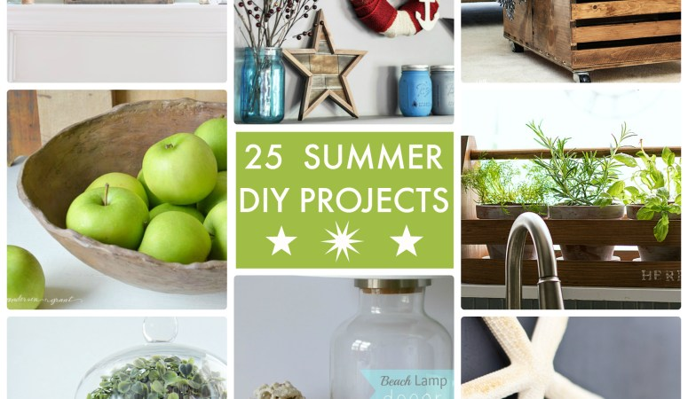 Great Ideas — 25 Summer DIY Projects!