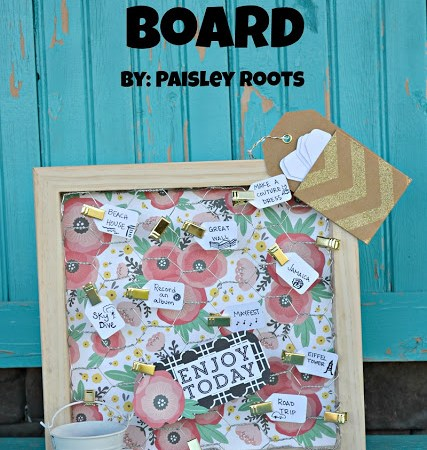 Bucket List Board