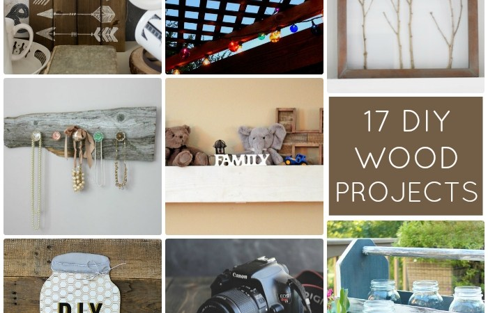 Great Ideas — 17 DIY Wood Projects!