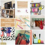 Great Ideas — 19 Fall Organizing Ideas!