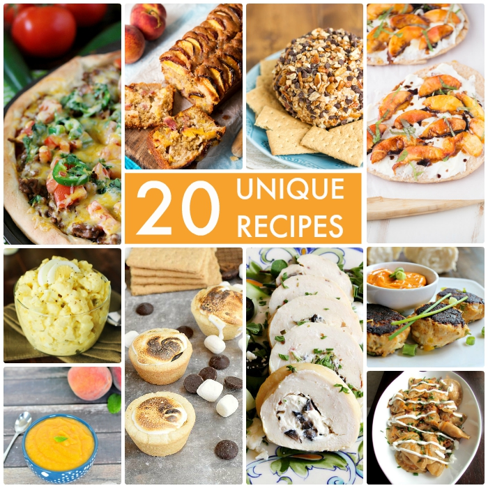 20 Unique Recipes
