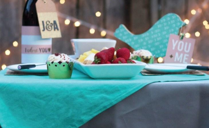 Dessert for Two Date Night Idea