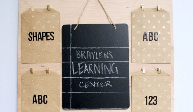 DIY Children's Learning Center