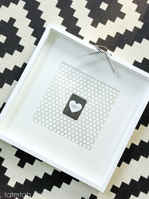 project life graphic wall hanging